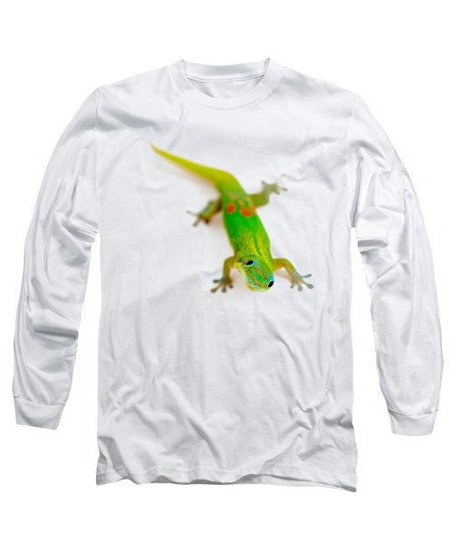 Green Gecko Long Sleeve T-Shirt