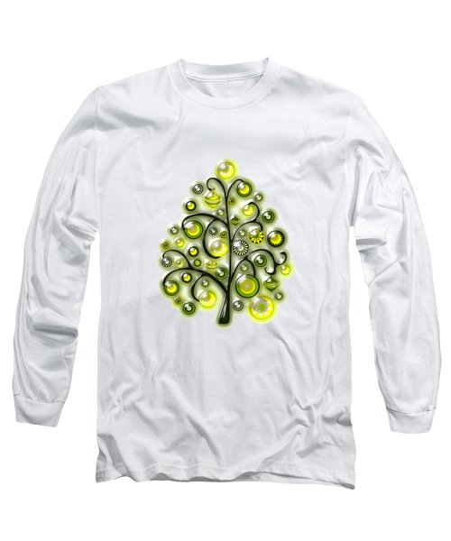 Green Glass Ornaments Long Sleeve T-Shirt