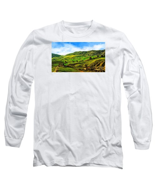 Green Hills Long Sleeve T-Shirt