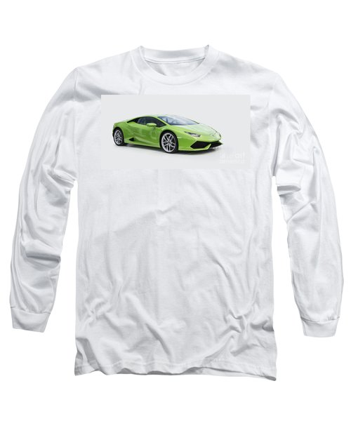 Green Huracan Long Sleeve T-Shirt