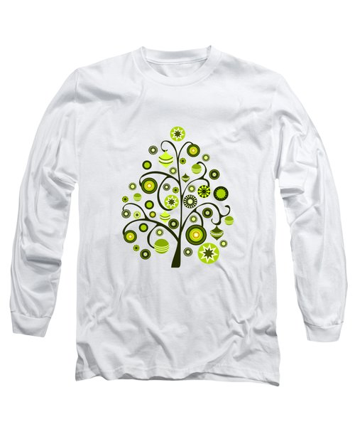 Green Ornaments Long Sleeve T-Shirt