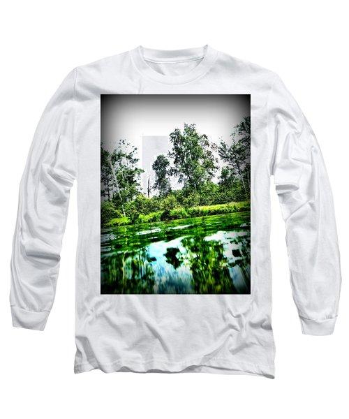 Green Waters Long Sleeve T-Shirt