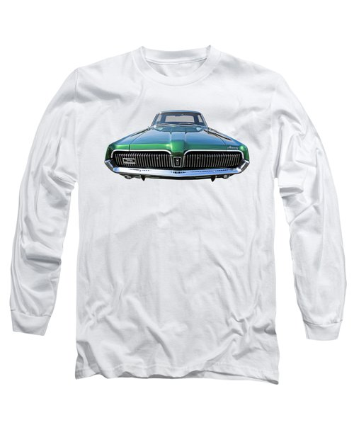 Green With Envy - 68 Mercury Long Sleeve T-Shirt by Gill Billington