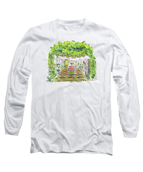 Greenhouse To Volcano Garden Arts Long Sleeve T-Shirt