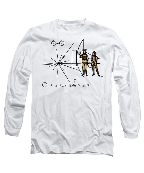 Greetings From Xxi Century Long Sleeve T-Shirt
