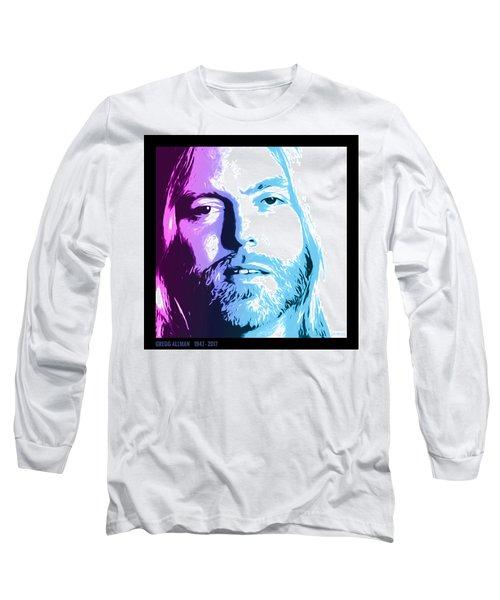 Gregg Allman 1947 2017 Long Sleeve T-Shirt