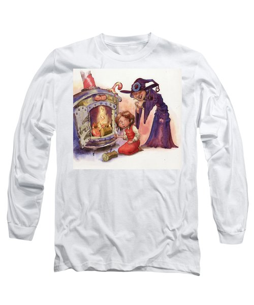 Gretel And Witch Long Sleeve T-Shirt