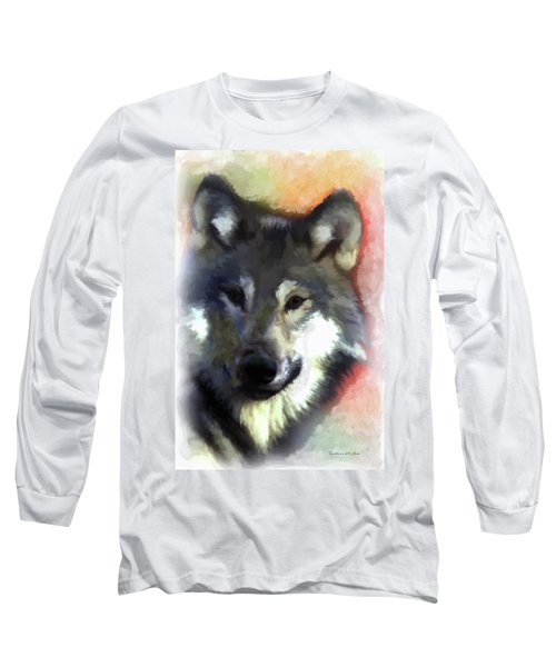 Grey Wolf Long Sleeve T-Shirt