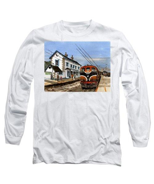 Greystones Railway Station Wicklow Long Sleeve T-Shirt