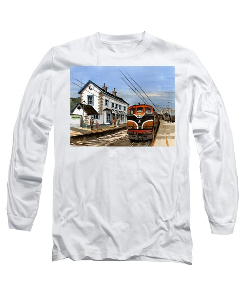 Greystones Railway Station Wicklow Long Sleeve T-Shirt