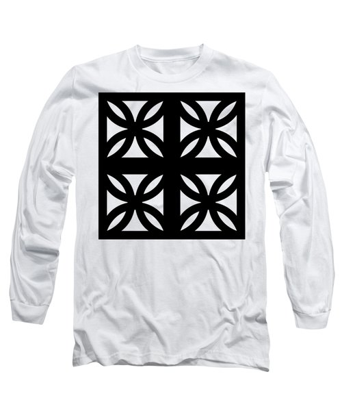 Grid 3 Transparent Long Sleeve T-Shirt