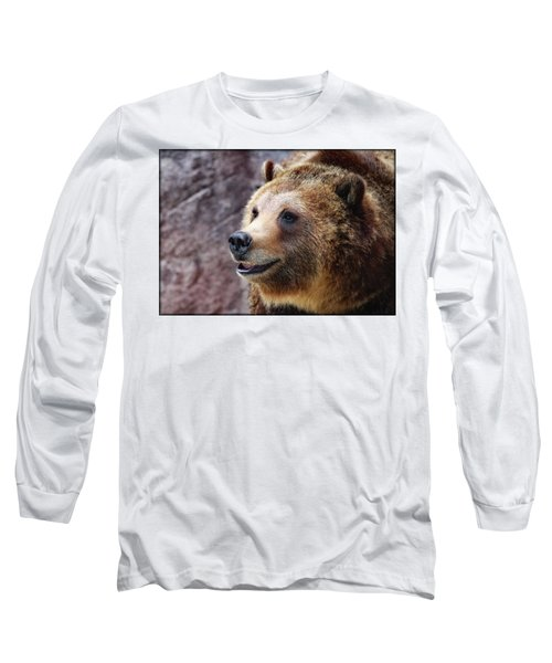 Grizzly Smile Long Sleeve T-Shirt