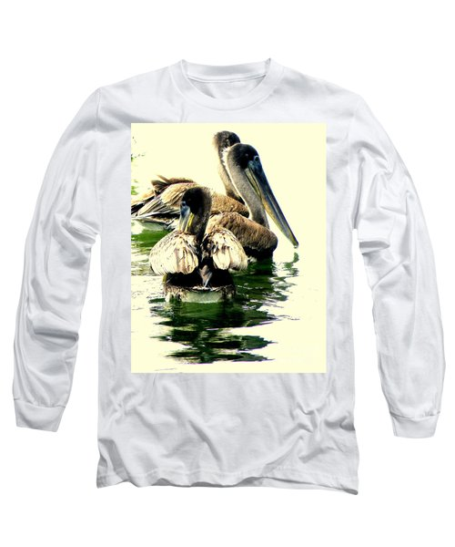 Grocery Shopping Long Sleeve T-Shirt