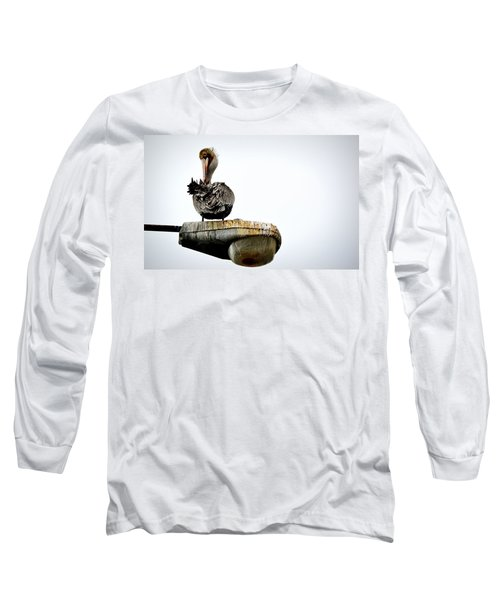 Long Sleeve T-Shirt featuring the photograph Grooming Time by AJ Schibig