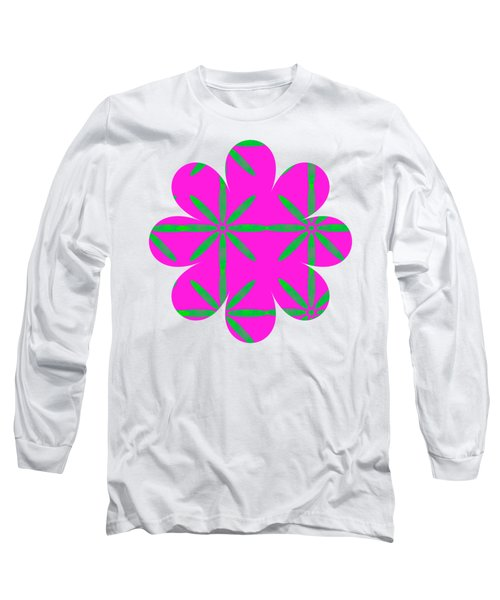 Groovy Flowers Long Sleeve T-Shirt