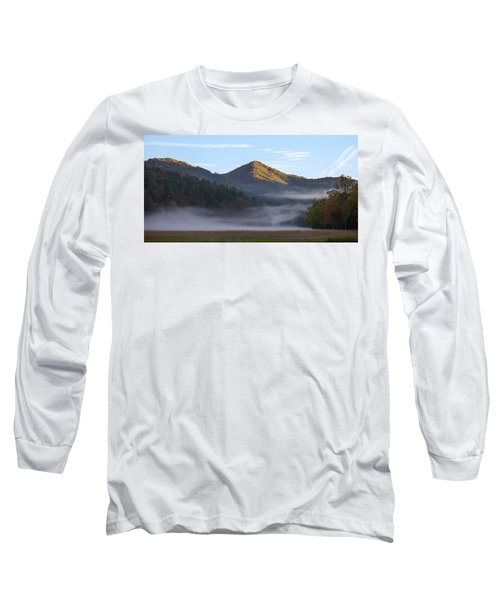Ground Fog In Cataloochee Valley - October 12 2016 Long Sleeve T-Shirt