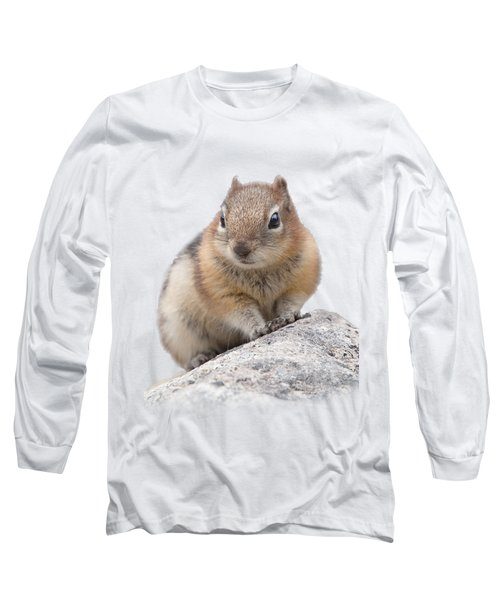 Ground Squirrel T-shirt Long Sleeve T-Shirt by Tony Mills