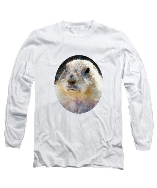 Ground Squirrel Portrait Long Sleeve T-Shirt