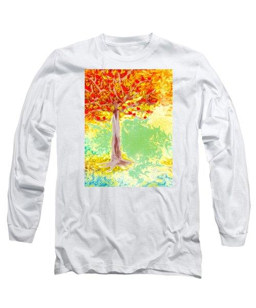Growing Love Long Sleeve T-Shirt by Claudia Ellis