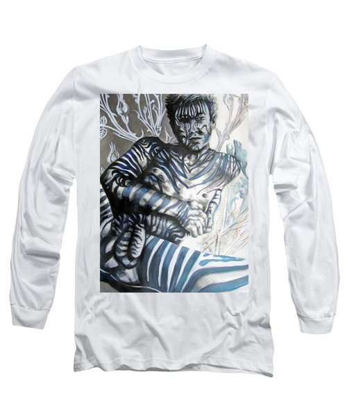 Growing Pains Zebra Boy  Long Sleeve T-Shirt