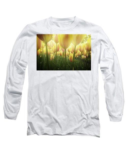Growing  Tulips  Long Sleeve T-Shirt