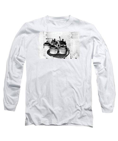 Honey Jars Long Sleeve T-Shirt by Don Gradner