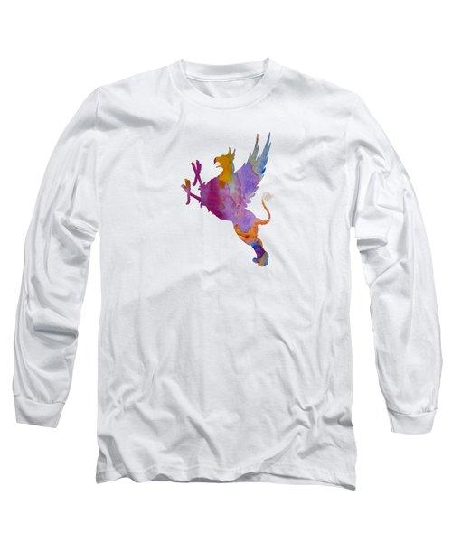 Gryphon Long Sleeve T-Shirt by Mordax Furittus