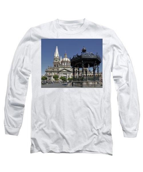 Long Sleeve T-Shirt featuring the photograph Guadalajara by Jim Walls PhotoArtist