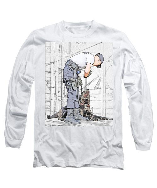 Guarding The City Long Sleeve T-Shirt