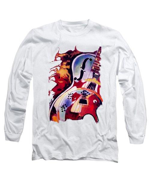 Guitar Flow Long Sleeve T-Shirt
