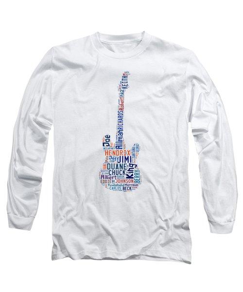 Guitar Legends Long Sleeve T-Shirt