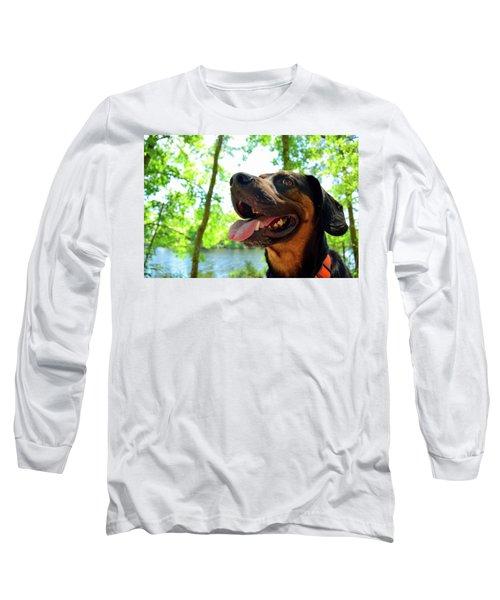 Gus On A Hike Long Sleeve T-Shirt