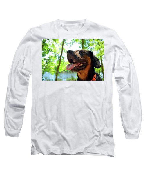 Gus On A Hike Long Sleeve T-Shirt