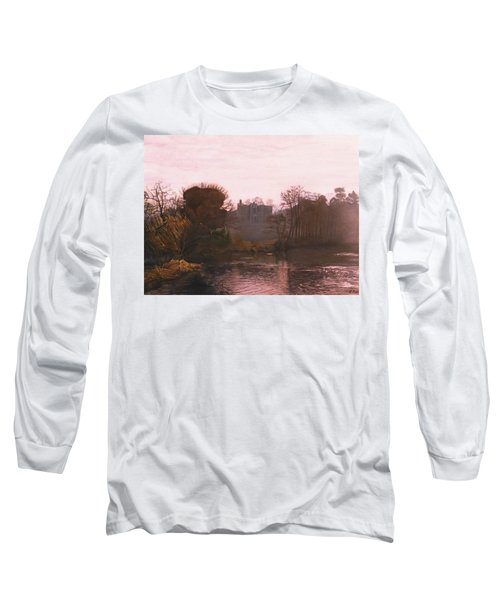 Guys Cliffe House Warwick England Long Sleeve T-Shirt