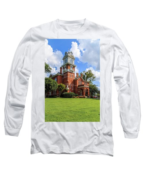 Gwinnett County Historic Courthouse Long Sleeve T-Shirt