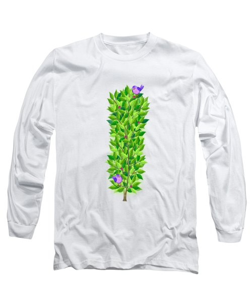 H Is For Hedgehog And Hammock Long Sleeve T-Shirt