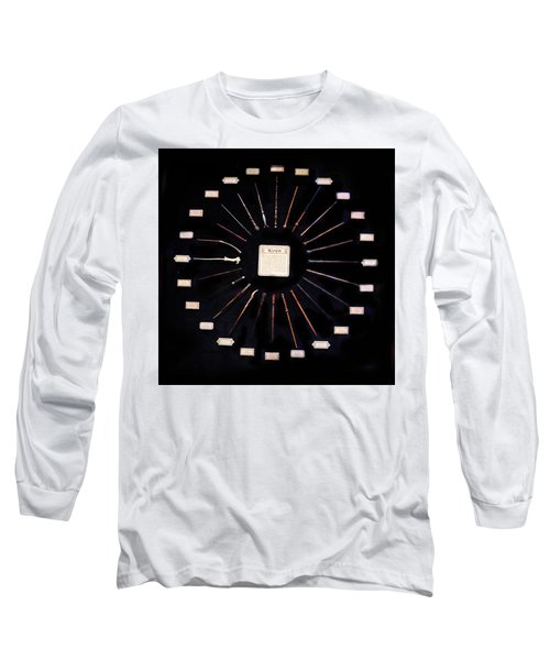 Long Sleeve T-Shirt featuring the mixed media Harry Potter Wands by Gina Dsgn