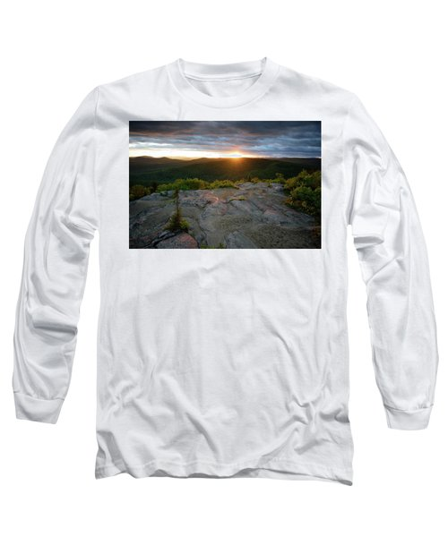 Hadley Mountain Sunset Long Sleeve T-Shirt