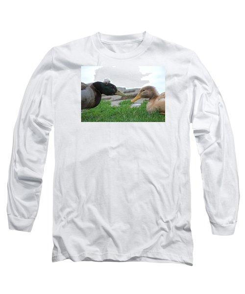 Hairdo Faceoff Long Sleeve T-Shirt