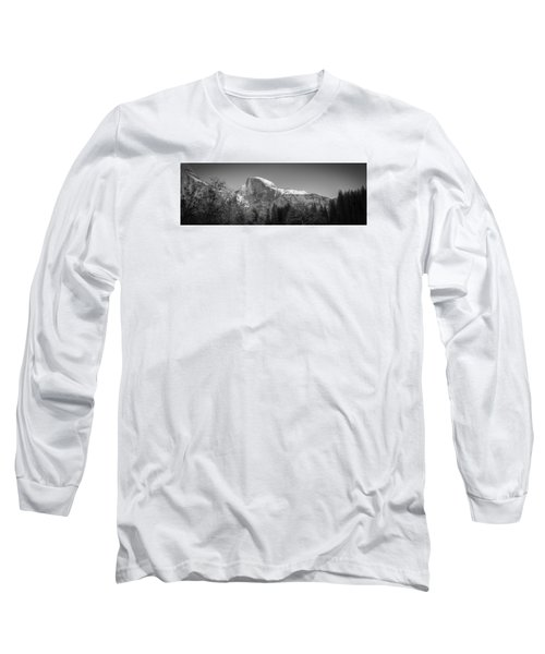 Half Dome In Winter Long Sleeve T-Shirt