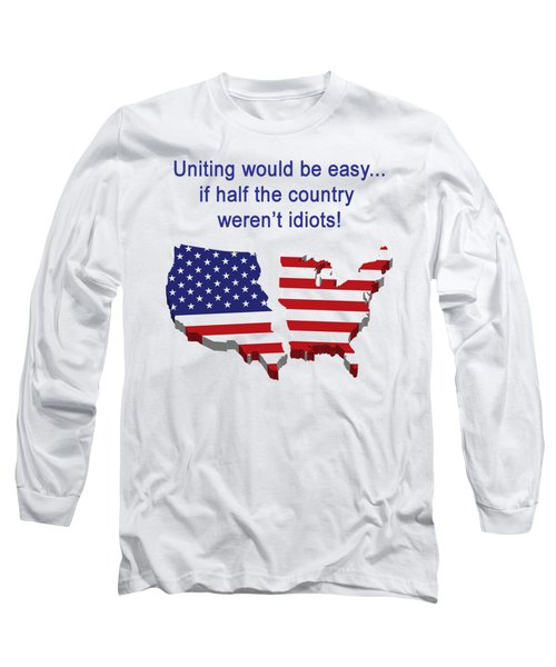 Half The Country Long Sleeve T-Shirt