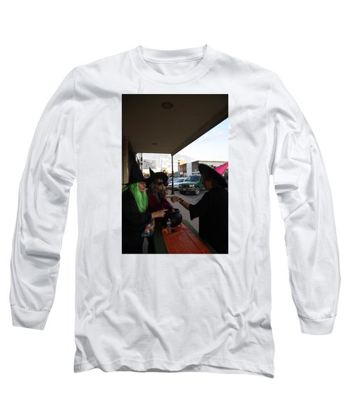 Halloween At The Crafters Choice Long Sleeve T-Shirt