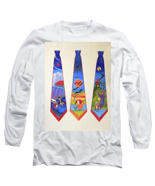 Halloween Ties Long Sleeve T-Shirt