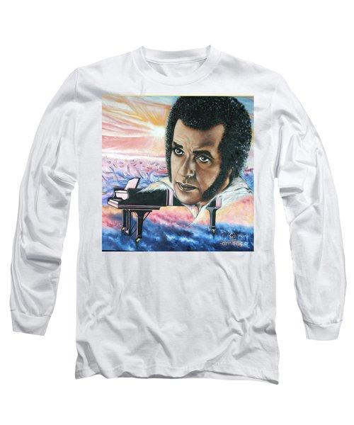 Blaa Kattproduksjoner       Hampton Hawes -jazz Pianist Long Sleeve T-Shirt