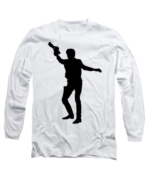Han Solo Star Wars Tee Long Sleeve T-Shirt by Edward Fielding