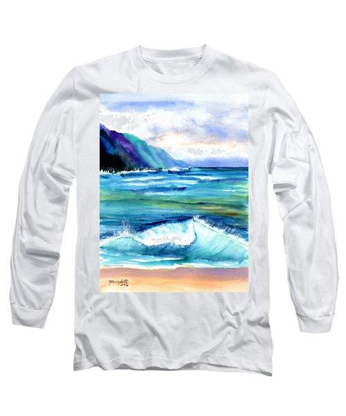 Hanalei Sea Long Sleeve T-Shirt