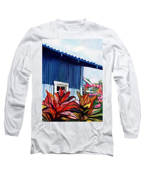 Hanapepe Town Long Sleeve T-Shirt