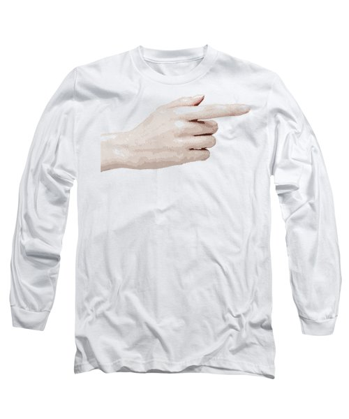 Hand - Parallel Hatching Long Sleeve T-Shirt