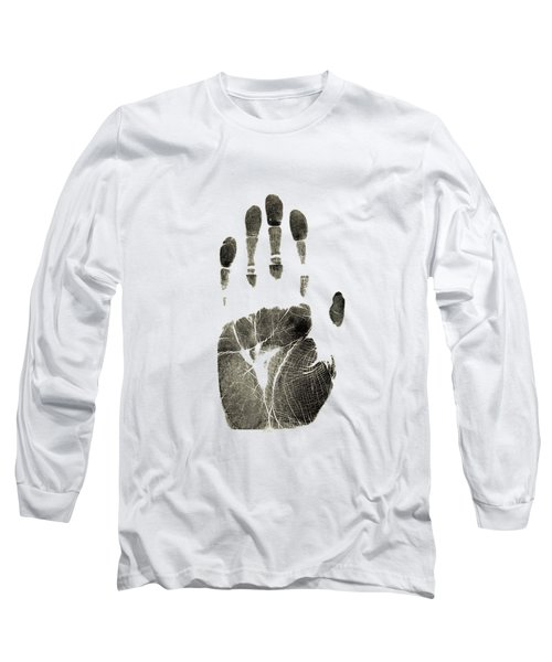Handprint Phone Case Long Sleeve T-Shirt