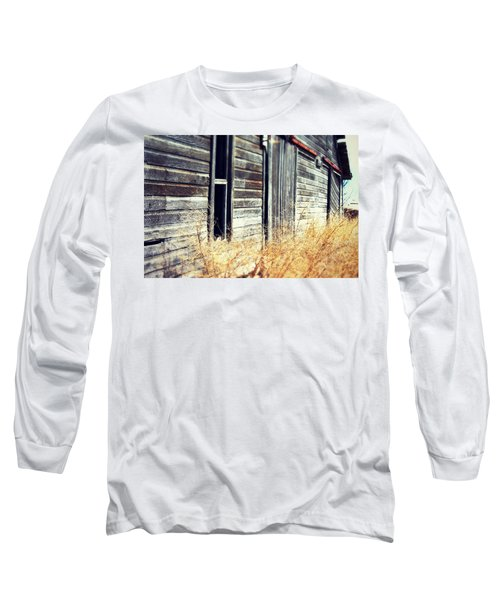 Hanging By A Bolt Long Sleeve T-Shirt by Julie Hamilton